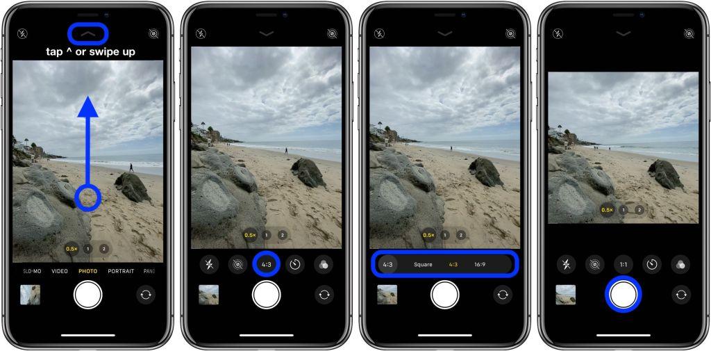 Как в айфоне сделать фото с местоположением если взглянуть