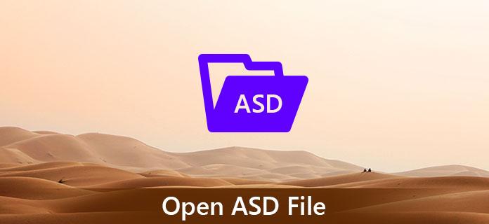 Что такое файл .ASD? Как открыть файл .asd в Windows 10