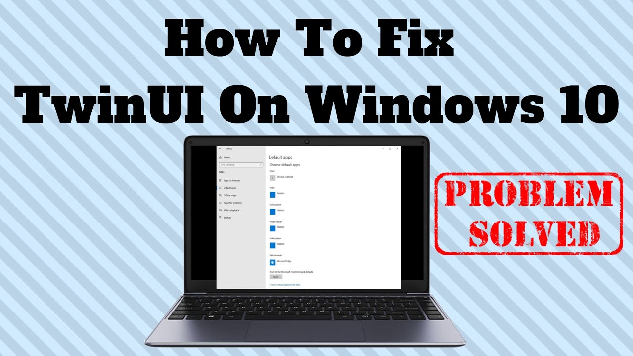 TWINUI - что это и как удалить из приложений по умолчанию в Windows 10